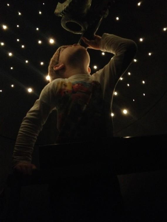 sikter mot stjernene